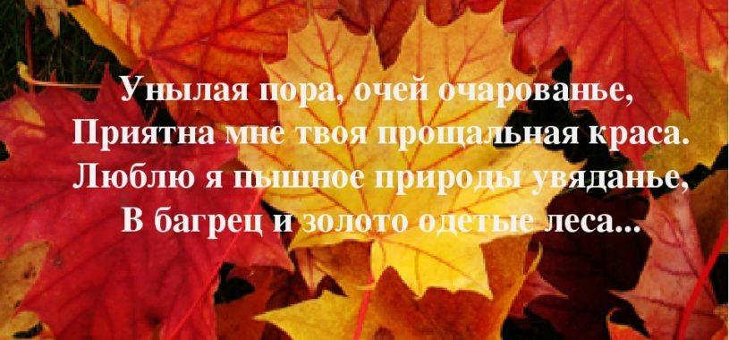 Зачем мы грустим осенью ?